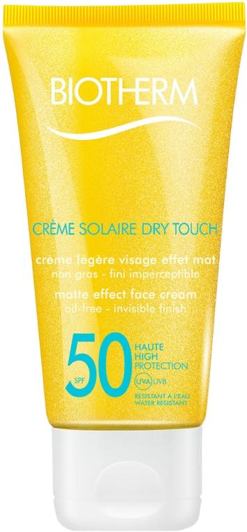 Cremă de protecție solară pentru față - Biotherm Sun Protection Creme Solaire Dry Touch SPF 50