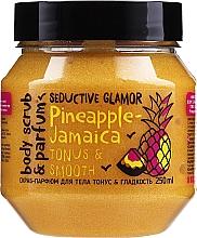 """Parfumuri și produse cosmetice Scrub prntru corp """"Tonus și netezime"""" - MonoLove Bio Pineapple-Jamaica Tonus & Smoothness Scrub"""