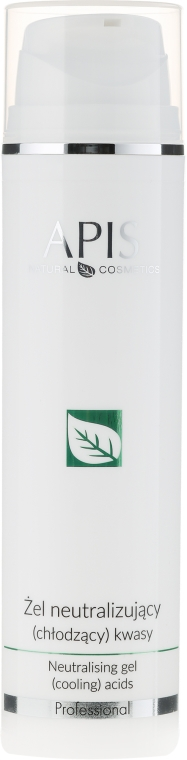 Neutralizator gel pentru oprirea acizilor din peeling-uri - APIS Professional Home TerAPIS Professional Neutralising Gel (Cooling) Acids