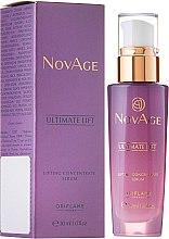 Parfumuri și produse cosmetice Ser-lifting pentru față și gât - Oriflame NovAge Ultimate Lift Lifting Concentrate Serum