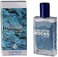 Parfumuri și produse cosmetice Real Time Pure On The Rocks For Men - Apă de toaletă