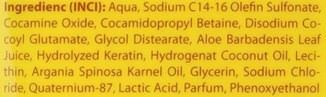 Șampon cu ulei de argan - Brazil Keratin Therapy Argan Shampoo — Imagine N3