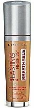Parfumuri și produse cosmetice Fond de ten - Rimmel Lasting Finish 25HR Breathable Foundation SPF 18