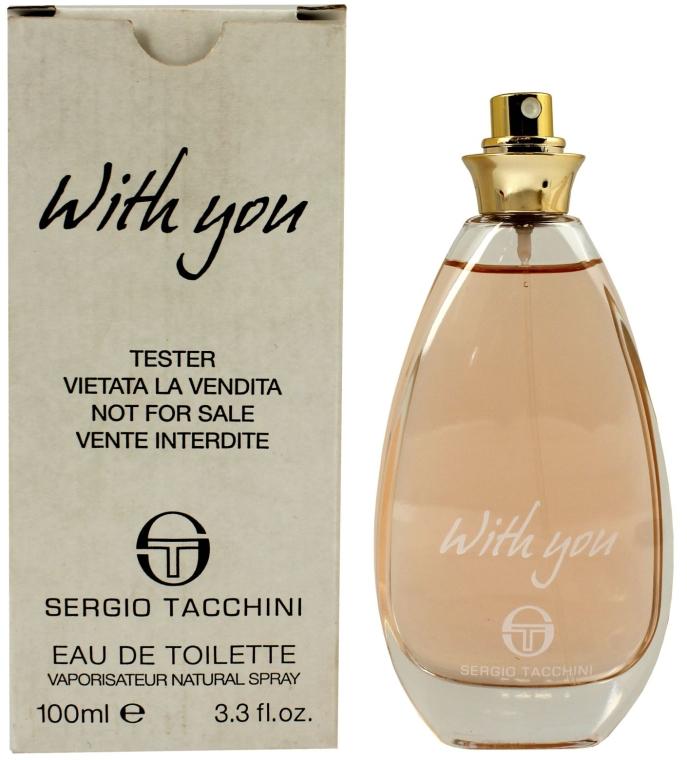 Sergio Tacchini With You - Apă de toaletă (tester fără capac) — Imagine N4