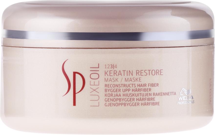 Mască regenerantă cu Keratină pentru păr - Wella SP Luxe Oil Keratin Restore Mask — Imagine N1