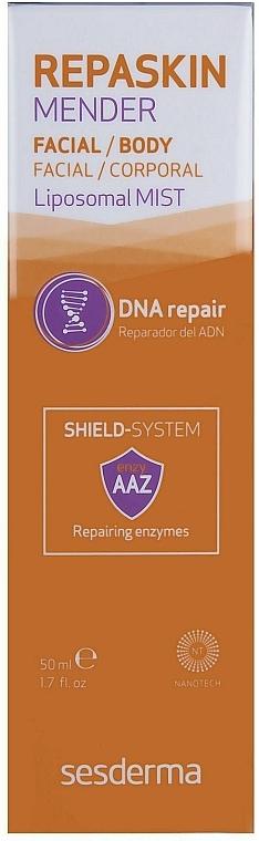 Ser regenerant pentru ten - SesDerma Laboratories Repaskin Mender Liposomal Mist — Imagine N2
