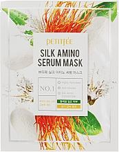 Parfumuri și produse cosmetice Mască pe bază de proteine de mătase pentru față - Petitfee & Koelf Silk Amino Serum Mask