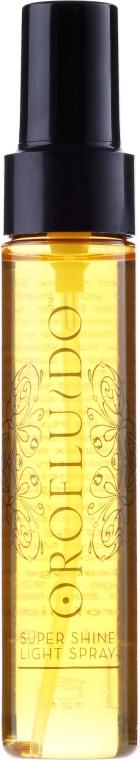 Spray pentru strălucirea părului - Orofluido Super Shine Light Spray — Imagine N3