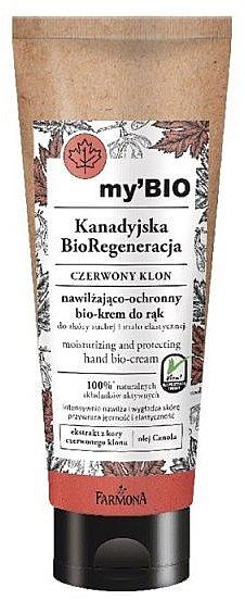 """Cremă bio de mâini """"Arțar roșu"""" - Farmona My'Bio Canadian Regeneration Hand Bio-Cream — Imagine N1"""