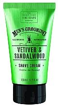 """Parfumuri și produse cosmetice Cremă de ras """"Vetiver și lemn de santal"""" - Scottish Fine Soaps Vetiver & Sandalwood Shave Cream"""