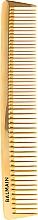 Parfumuri și produse cosmetice Pieptene profesional pentru păr - Balmain Paris Hair Couture Golden Cutting Comb