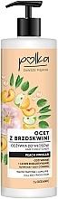 """Parfumuri și produse cosmetice Balsam de păr """"Oțet de piersici"""" - Polka Peach Vinegar Conditioner"""