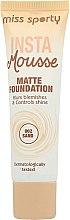 Parfumuri și produse cosmetice Fond de ten matifiant - Miss Sporty Insta Mousse Matte Foundation