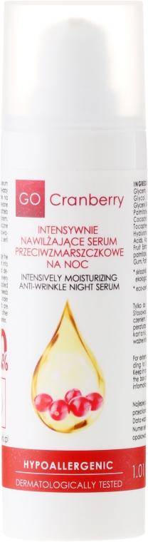 Ser hidratant antirid de noapte - GoCranberry Anti-Wrinkle Night Serum — Imagine N2