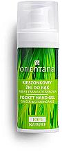Parfumuri și produse cosmetice Gel antibacterian cu ghimbir și lemongrass pentru mâini - Orientana Pocket Hand Gel