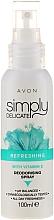 "Deodorant spray ""Revigorare"" - Avon Simply Delicate — Imagine N1"