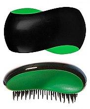 Parfumuri și produse cosmetice Perie de păr, negru-verde - KayPro Dtangler