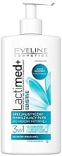 Parfumuri și produse cosmetice Gel pentru igiena intimă - Eveline Cosmetics Lactimed+ Sensitive
