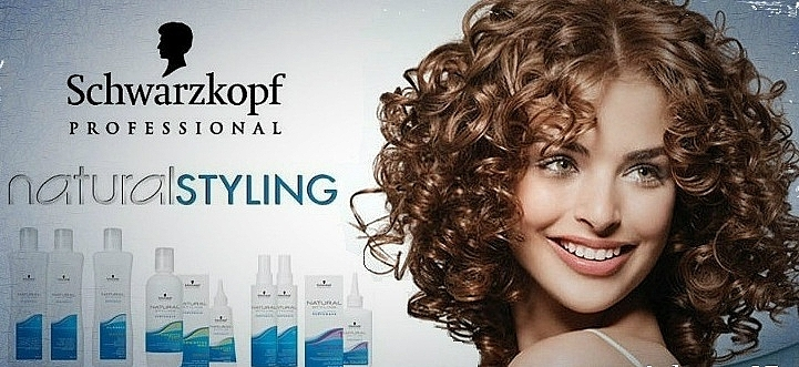 Gel creativ pentru rădacinile părului ondulat - Schwarzkopf Professional Natural Styling Creative Gel №1 — Imagine N4