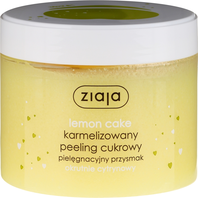 "Peeling pentru corp ""Lemon Cake"" - Ziaja Sugar Body Peeling"