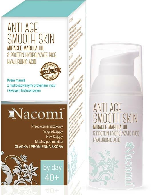Cremă de zi pentru față - Nacomi Anti Age Smooth Skin Face Cream 40+ — Imagine N1