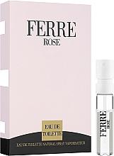 Parfumuri și produse cosmetice Gianfranco Ferre Ferre Rose - Apă de toaletă 1.5ml (mostră)