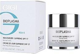 Parfumuri și produse cosmetice Cremă hidratantă pentru tenul gras - Gigi Bioplasma Moist Oil SPF-17