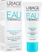 Parfumuri și produse cosmetice Cremă hidratantă și nutritivă - Uriage Eau Thermale Rich Water Cream