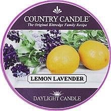 Parfumuri și produse cosmetice Lumânare aromată (borcan) - Country Candle Lemon Lavender