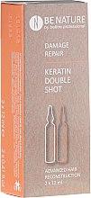 Parfumuri și produse cosmetice Set ampule pentru regenerarea părului - Beetre BeNature Demage Repaire Keratin Double Shot (ampoule/2x12ml)