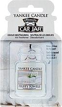Parfumuri și produse cosmetice Aromatizator auto - Yankee Candle Car Jar Ultimate Fluffy Towels