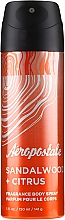Parfumuri și produse cosmetice Spray de corp - Aeropostale Sandalwood + Citrus Fragrance Body Spray