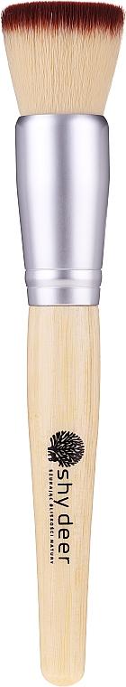 Pensulă pentru machiaj, plată - Shy Deer Flat Brush — Imagine N1