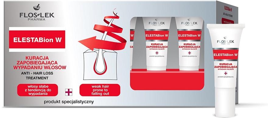 Set - Floslek Elestabion W Anti Hair Loss Treatment (Serum/6ml x 10)
