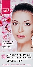 Parfumuri și produse cosmetice Mască-ser cu extract de flori de vișine pentru față - Czyste Piekno Face Mask Serum Gel