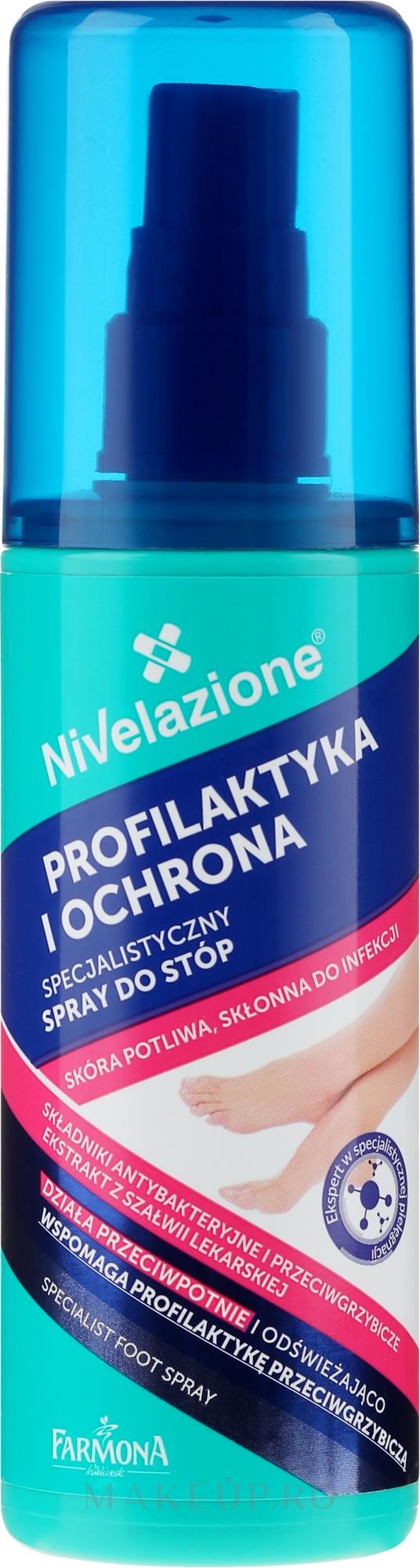 Spray pentru picioare - Farmona Nivelazione Foot Spray — Imagine 125 ml