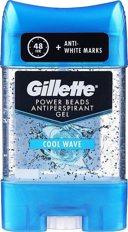 Deodorant antiperspirant gel - Gillette PowerBeads Cool Wave Anti-Perspirant Gel for Men — Imagine N1