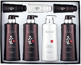 Parfumuri și produse cosmetice Set - Daeng Gi Meo Ri Ki Gold Hair Care Set (shm/500ml + shm/500ml + shm/500ml + cond/500ml + shm/70ml + shm/70ml + cond/70ml)