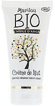 Parfumuri și produse cosmetice Crema de noapte anti-îmbătrânire pentru față - Marilou Bio Creme de Nuit Anti-Age
