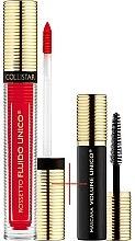 Set - Collistar Fluido Unico, 10-Rosso Unico Mat (lipstick/5ml + mascara/6ml) — Imagine N1