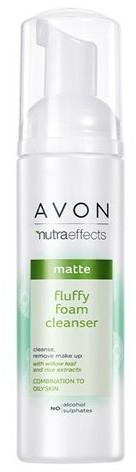 Spuma revigorantă de curățare - Avon Nutra Effects Matte Fluffy Foam Cleanser