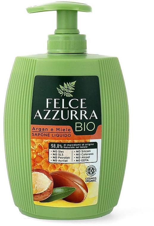 "Săpun lichid ""Ulei de argan și Miere"" - Felce Azzurra BIO Argan & Honey Liquid Soap — Imagine N1"