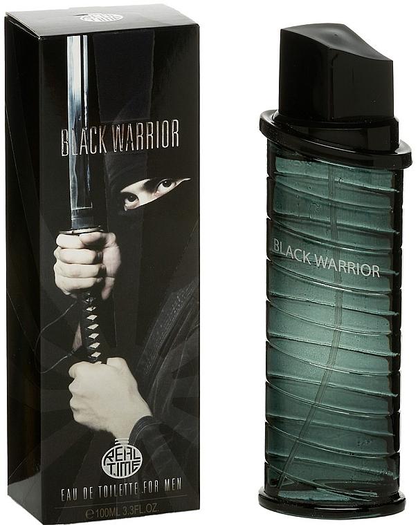 Real Time Black Warrior - Apă de toaletă  — Imagine N1