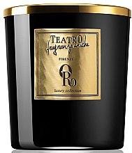 Parfumuri și produse cosmetice Lumânare aromată - Teatro Fragranze Uniche Luxury Collection Oro Scented Candle