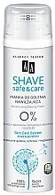 Parfumuri și produse cosmetice Spumă hidratantă de ras - AA Shave Safe & Care