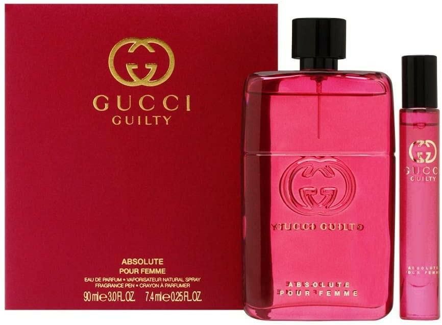 Gucci Guilty Absolute Pour Femme - Set (edp/90ml + edp/mini/7,4ml) — Imagine N1