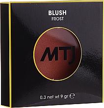 Parfumuri și produse cosmetice Fard de obraz - MTJ Cosmetics Frost Blush