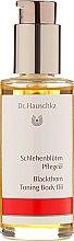 "Ulei de corp ""Coloană de flori"" - Dr. Hauschka Blackthorn Toning Body Oil — Imagine N2"