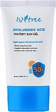 Parfumuri și produse cosmetice Gel de protecție solară cu acid hialuronic - Isntree Hyaluronic Acid Watery Sun Gel SPF 50+ PA++++