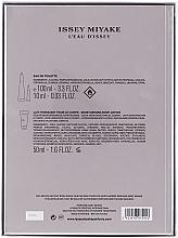Issey Miyake L'Eau D'Issey - Set (edp/100ml + b/lot/50ml + edp/10ml) — Imagine N5